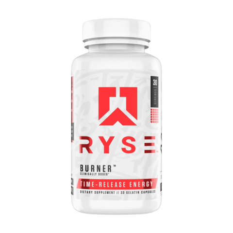 Ryse Fat Burner Time Released 30Caps