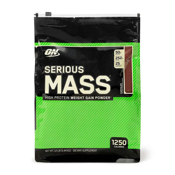 Serious Mass 12lb Chocolate