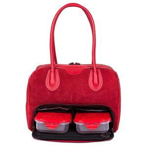 6 Pack Fitness Vixen Tote Red