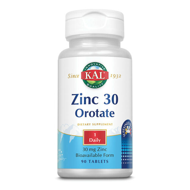 Zinc 30 Orotate Sustained Release 90Tabs