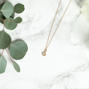 The Becki Necklace in Gold