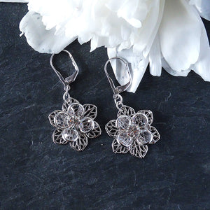 Dangly Swarovski Earrings