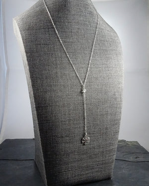 Short Silver Necklace