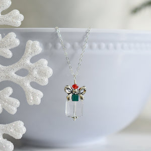 Christmas Present Necklace