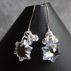Hypoallergenic Snowflake Earrings