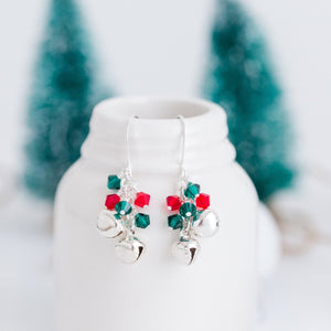 Jingle Bell Holiday Earrings