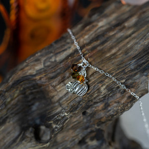 Harvest Pumpkin Necklace