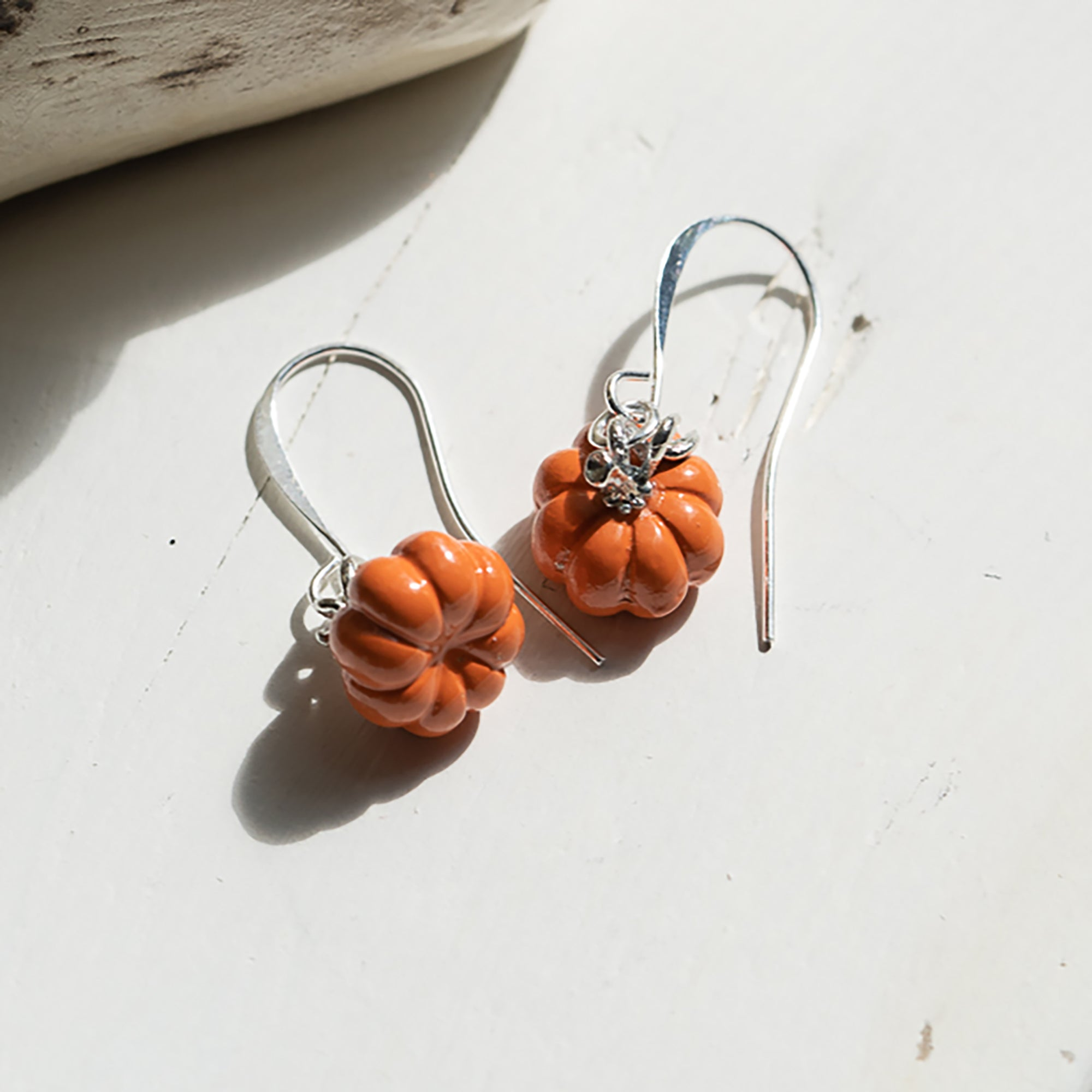 Harvest Pumpkin Earrings