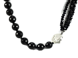 Black Onyx Statement Necklace