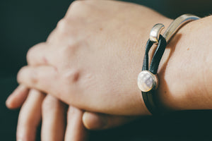 Stackable Leather Bracelet