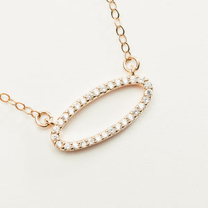 Trendy Rose Gold Necklace