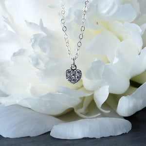 Necklace Gift for Flower Girl