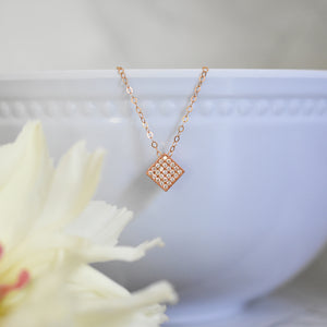 Dainty Rose Gold Necklace
