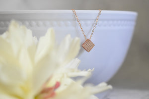 Elegant Small Pendant Necklace