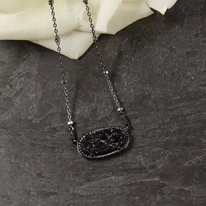 Black Layering Necklace