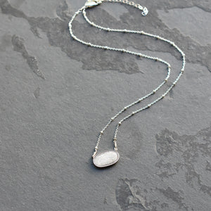 Collarbone Length Necklace