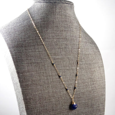 product copper with gifts lazuli wrapped eye lapis pendant