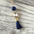 Cotton Tassel Necklace