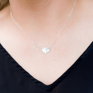 Layering Necklace in Silver