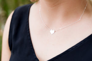 The Mary Necklace in Silver