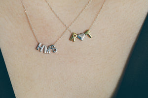 Personalized Alphabet Necklace