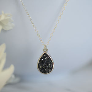 Druzy Geode Necklace