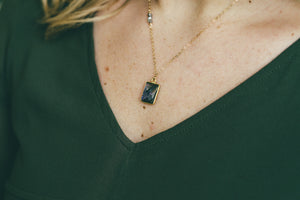 Gold Vermeil Pendant Necklace