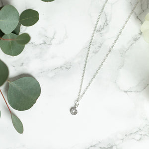 The Becki Necklace in Silver