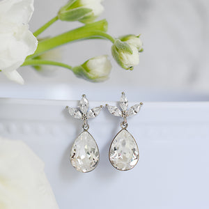 The Kate Earrings in Silver