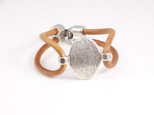 Boho Chic Leather Bracelet