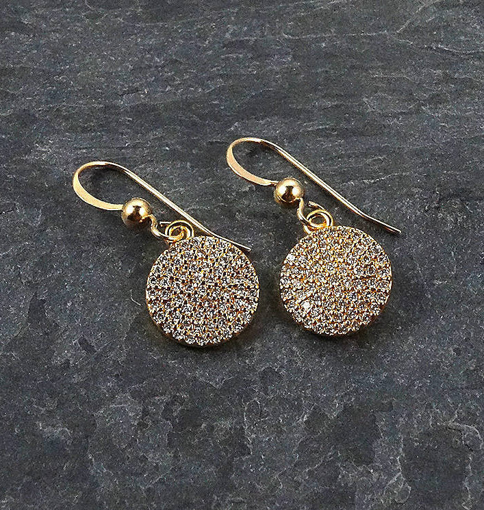 Trendy Gold Earrings