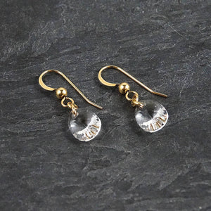 Delicate Crystal Earrings