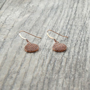 Sparkly Rose Gold Earrings