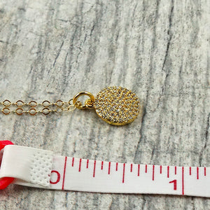 Small Pendant Long Necklace