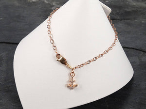 Rose Gold Anchor Bracelet
