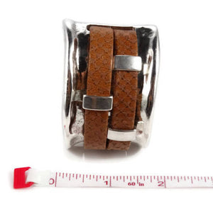 Trendy Leather Cuff