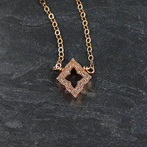 Rose Gold Minimalist Necklace