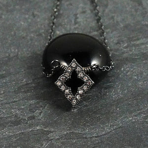 Delicate Black Necklace