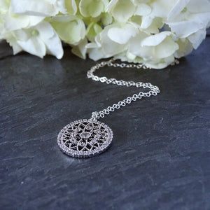 Victorian Inspired Pendant Necklace
