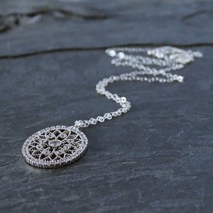 Boho Silver Necklace