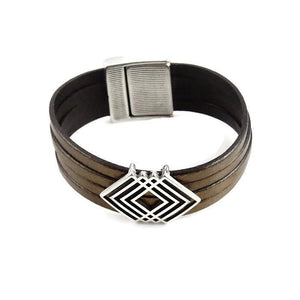 Chunky Leather Bracelet