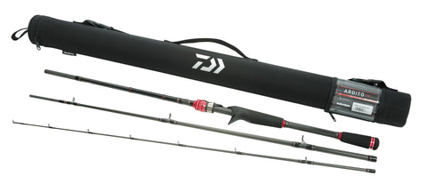 Daiwa Ardito TR Travel Spinning Rod and Case