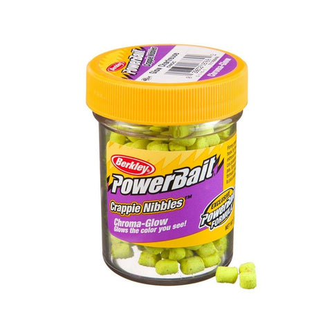 Berkley PowerBait Crappie Nibbles - Chroma-Glow