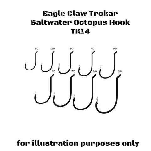 Eagle Claw Trokar Octopus Hook TK14