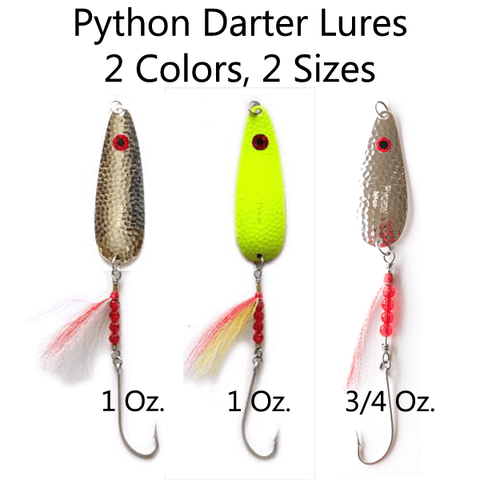 Thundermist Python Darter Bucktail Lures
