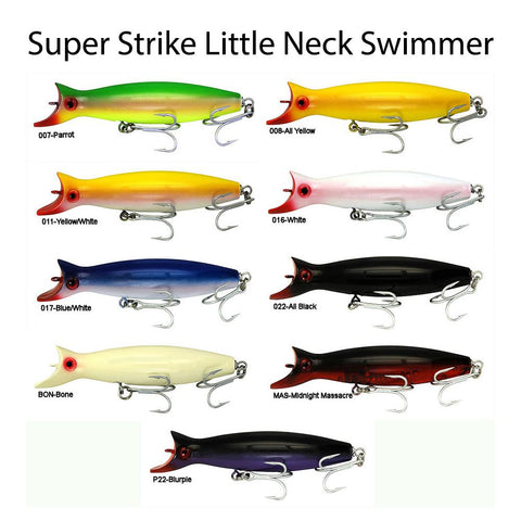 Super Strike Little Neck Swimmer Colors