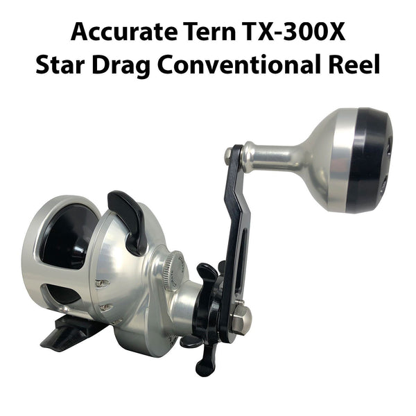 Accurate Tern Star Drag Conventional Reel - TX-300X