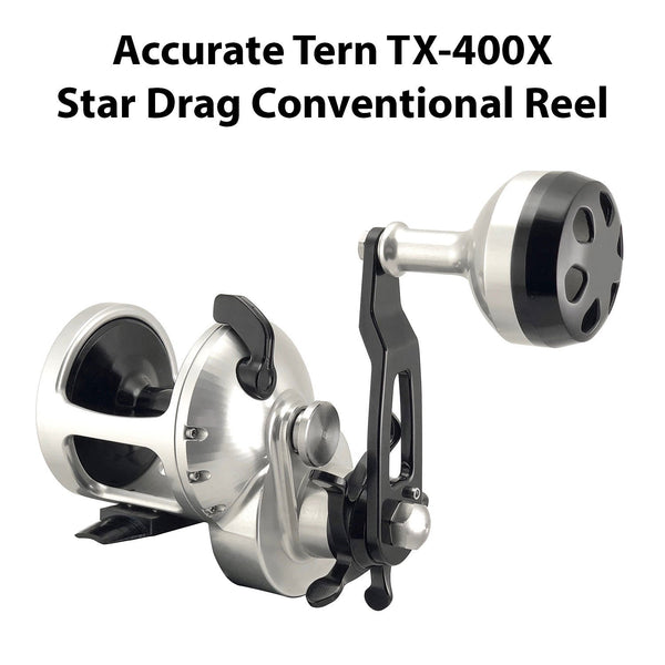 Accurate Tern Star Drag Conventional Reel - TX-400X