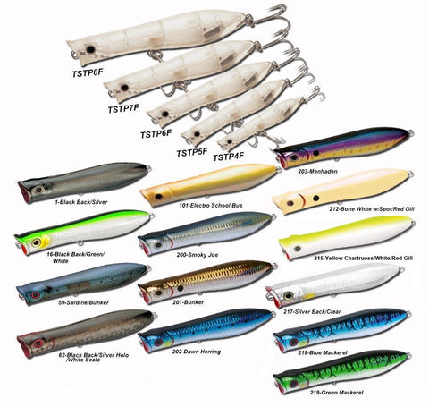 Tsunami Talking Popper Lures