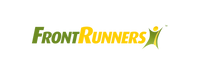 Picture of Frontrunners logo which the front is in bright green and Runners in yellow